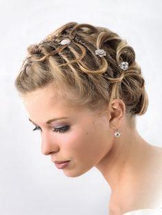 Frisuren Kurzhaar Hochzeit