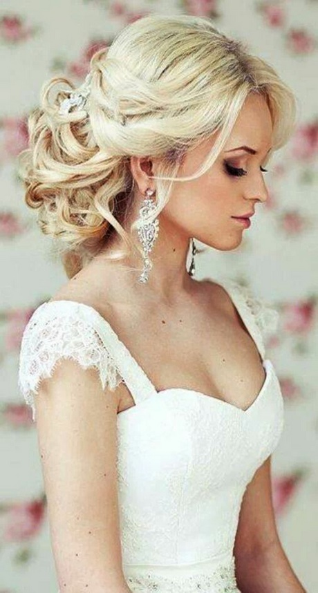 Hochzeitsfrisuren halb hochgesteckt