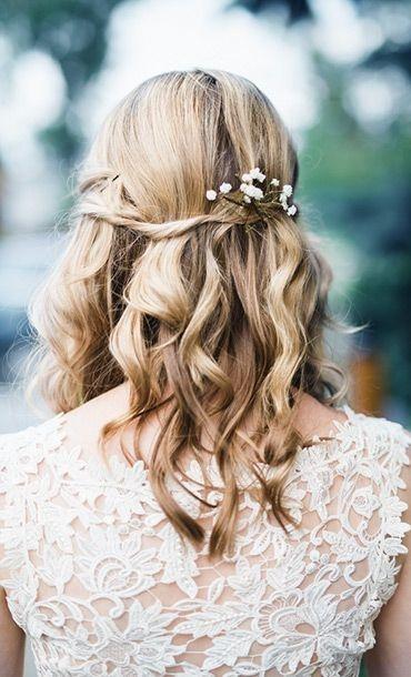 Frisur Hochzeit Locken