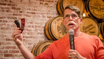 Chef Rick Bayless speaking on Mexican food