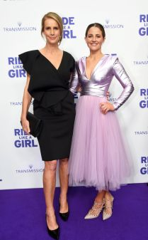 Rachel Griffiths and Michelle Payne at the Ride Like a Girl film premiere