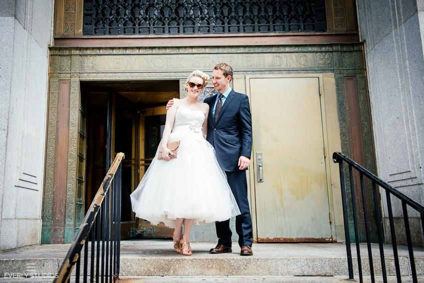 New York City Hall Wedding Photographer  New York Elopement New York Wedding Photographer