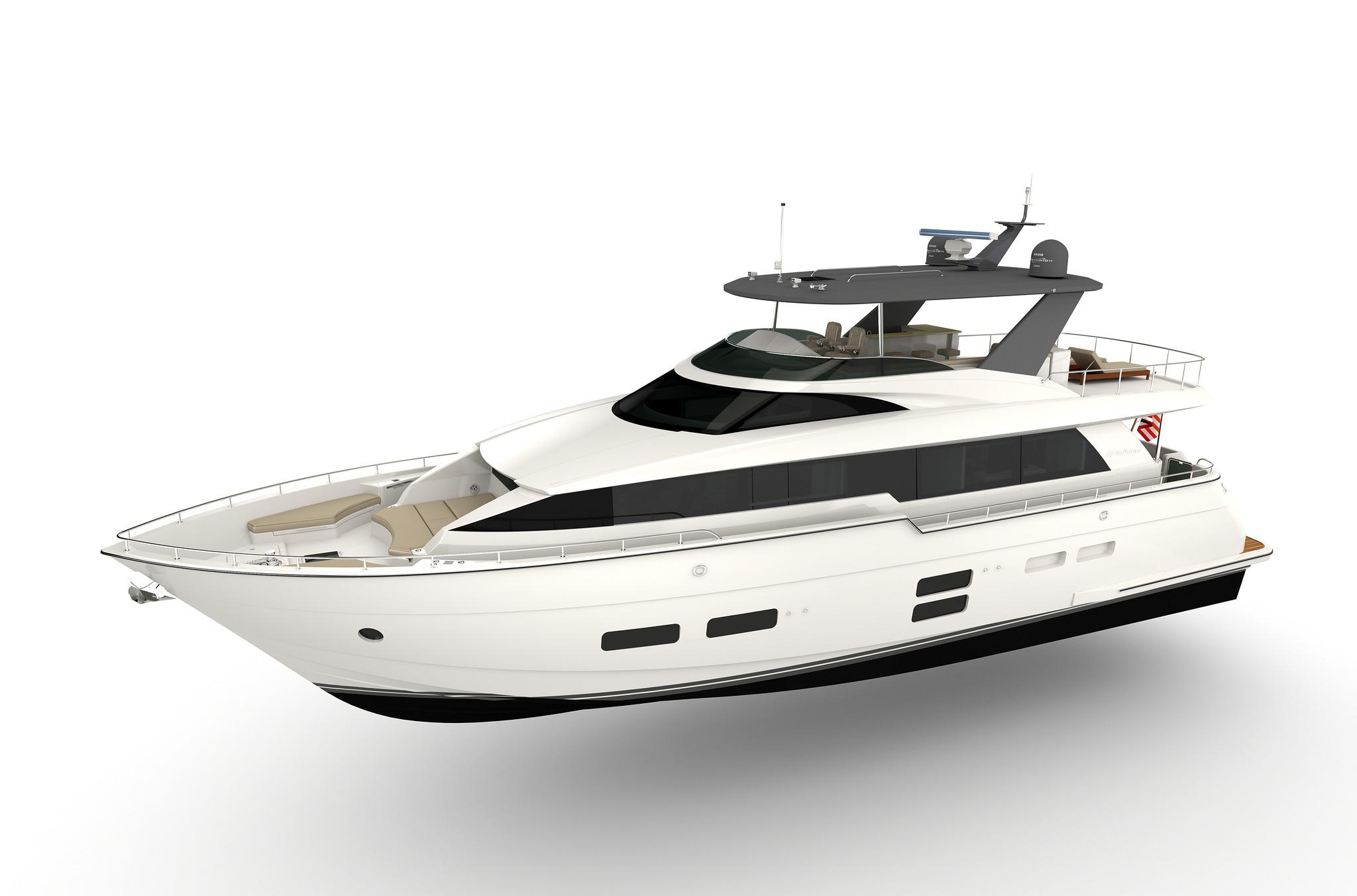Hatteras 70 Motor Yacht Evermarine Yachts Panama