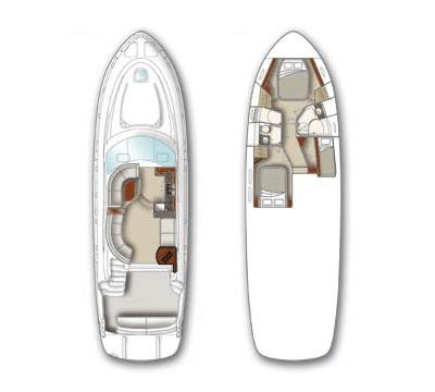 Layout Sea Ray 52