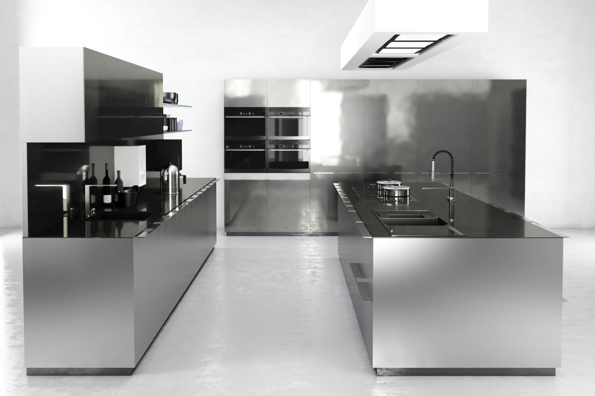Kitchen Island 3d Model Free Download