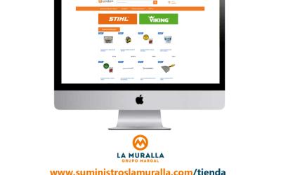 Nueva Tienda Virtual para Suministros La Muralla