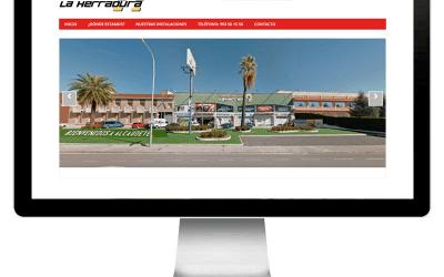 Proyecto realizado por evernes.com: centrocomerciallaherradura.com