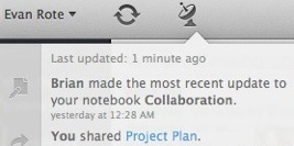 Collaboration is easier with new notifications and better sharing.