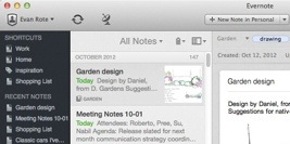 Powerful sidebar with Shortcuts, Recent Notes, and quicker access to everything.