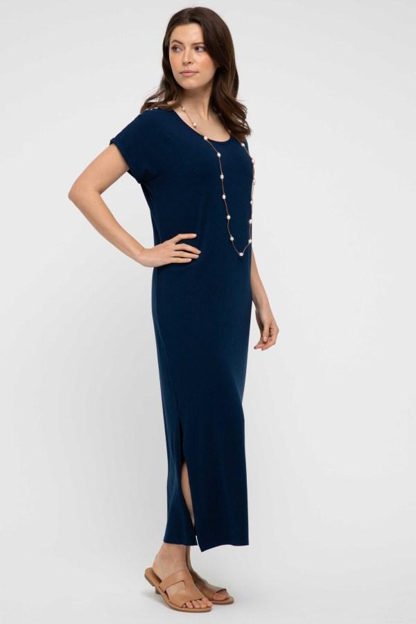 Elsie Dress Navy 3