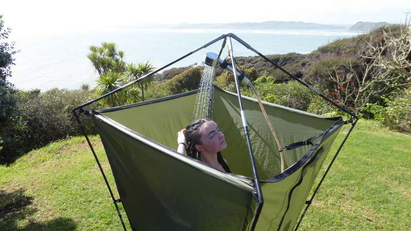 Portable Solar Camping Shower