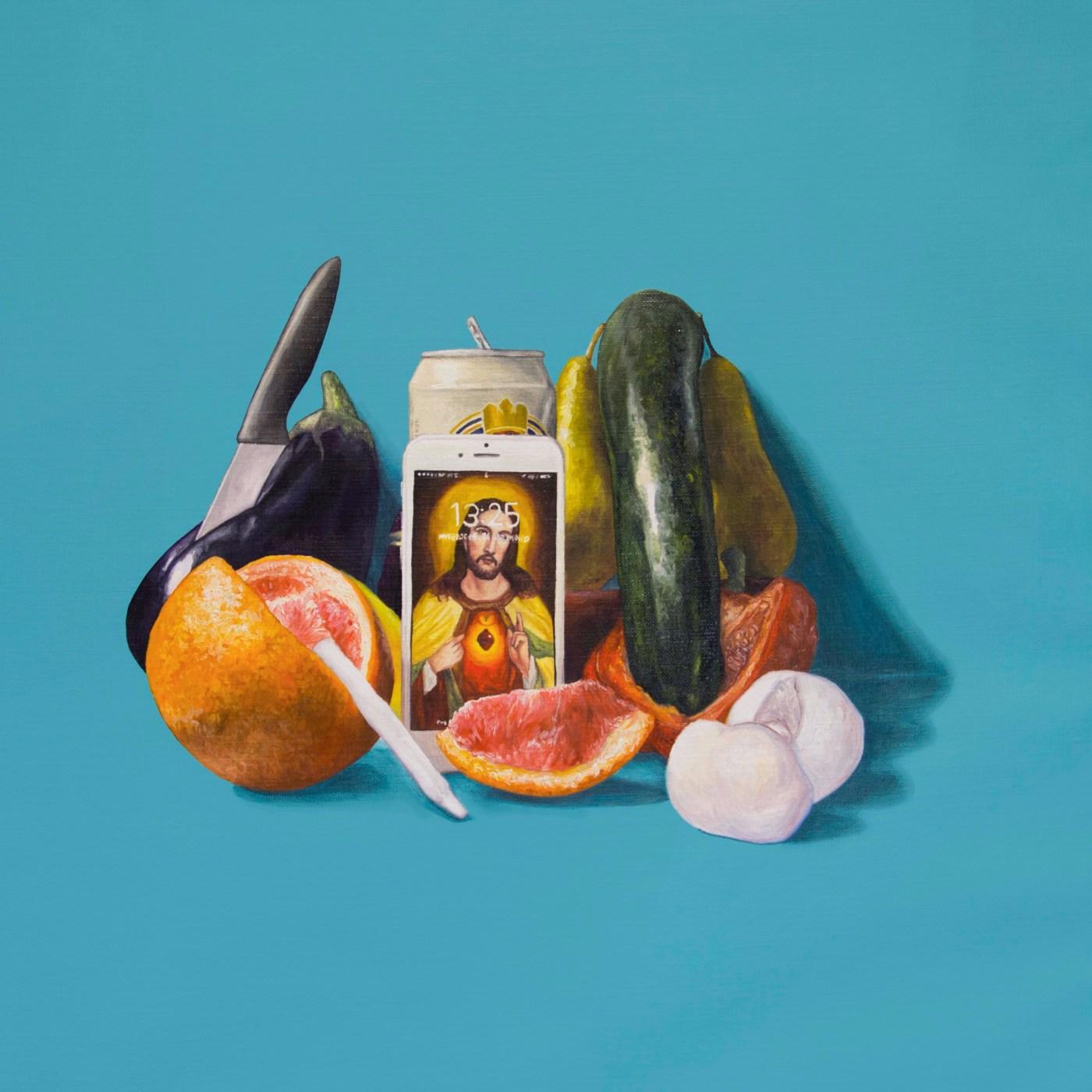 Contemporary Still Life Canvas