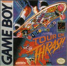 tour de thrash, game boy, skate, nintendo, games