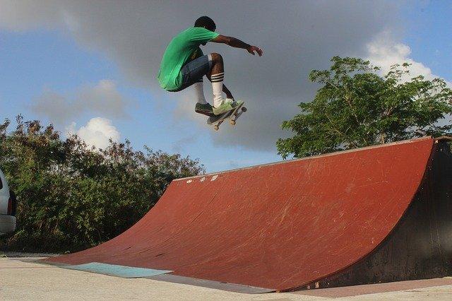 quarter pipe, skateboard, ramp, skate