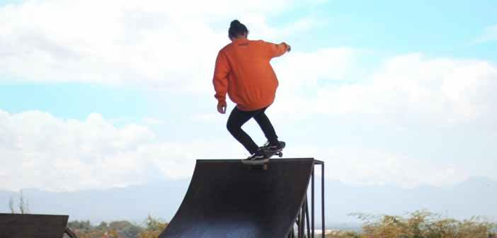 skateboard ramp, skate, quarter pipe