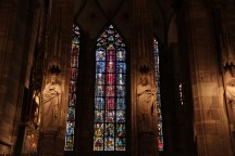 Stained Glass Windows at Strasbourg Cathedral