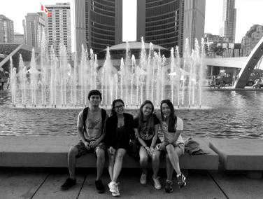 Toronto and Childhood Friends
