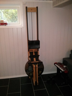 WaterRower WR110 WaterRower Natural Beechwood - upright