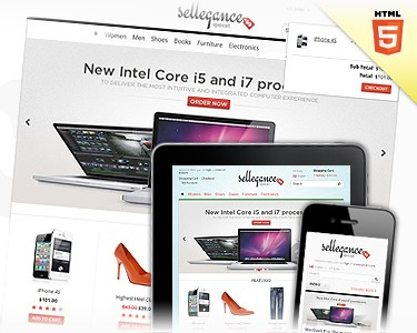 Sellegance - Responsive and clean template for OpenCart