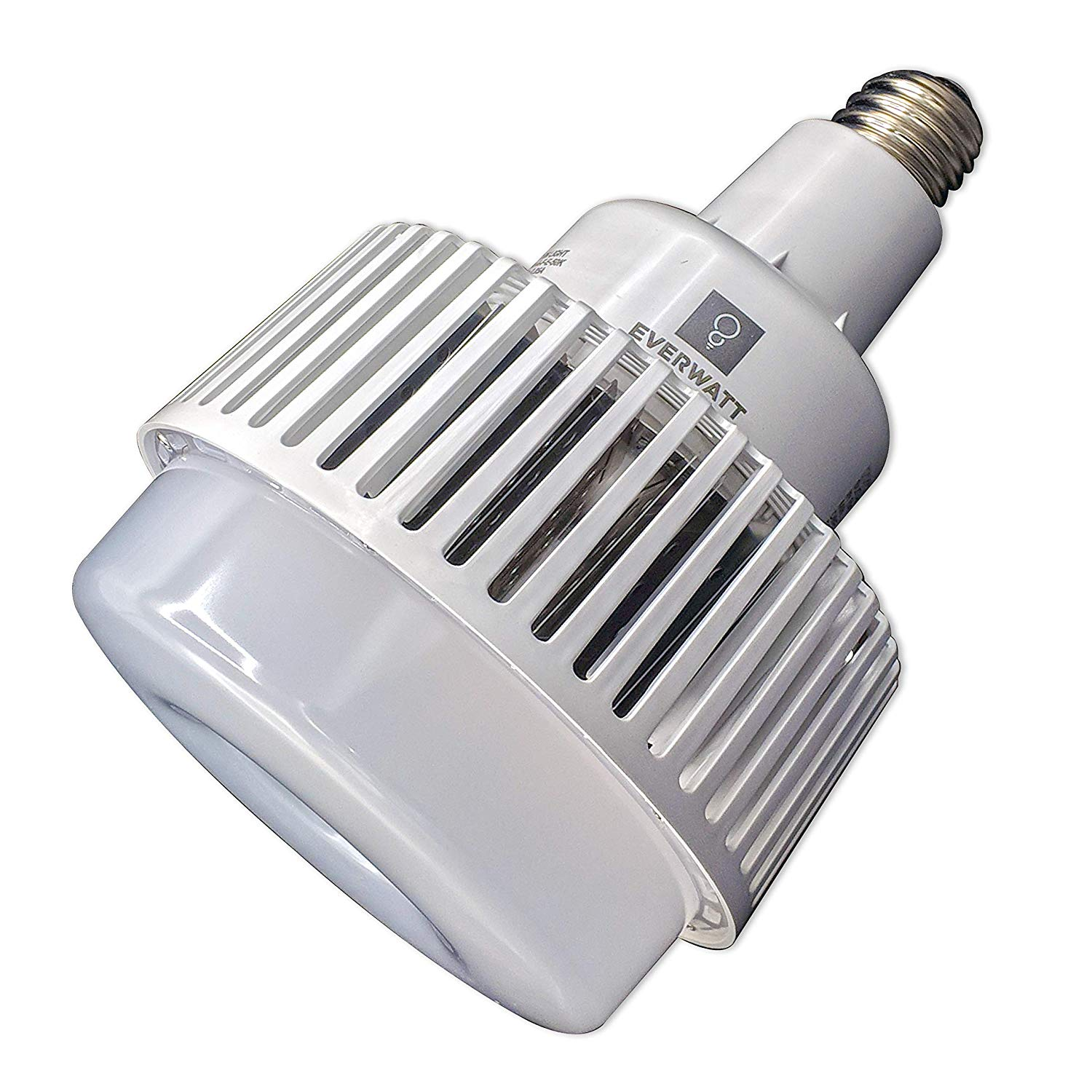 100w led high bay bulb e39 mogul replacement for 400w 600w metal halide equivalent 5000k 13000 lumens for daylight shop lamp for warehouses