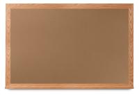 Cork Boards with Wide Oak Wood Frame
