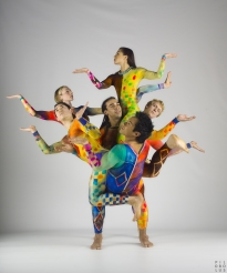 Image: Pilobolus' 'Color tree'