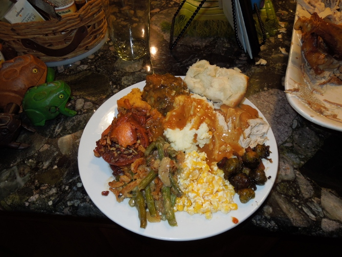 Image: Thanksgiving plate perfection