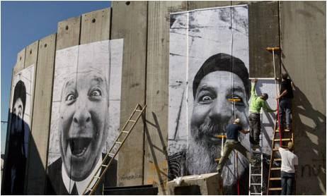 Image: JR's Palestine/Israel art