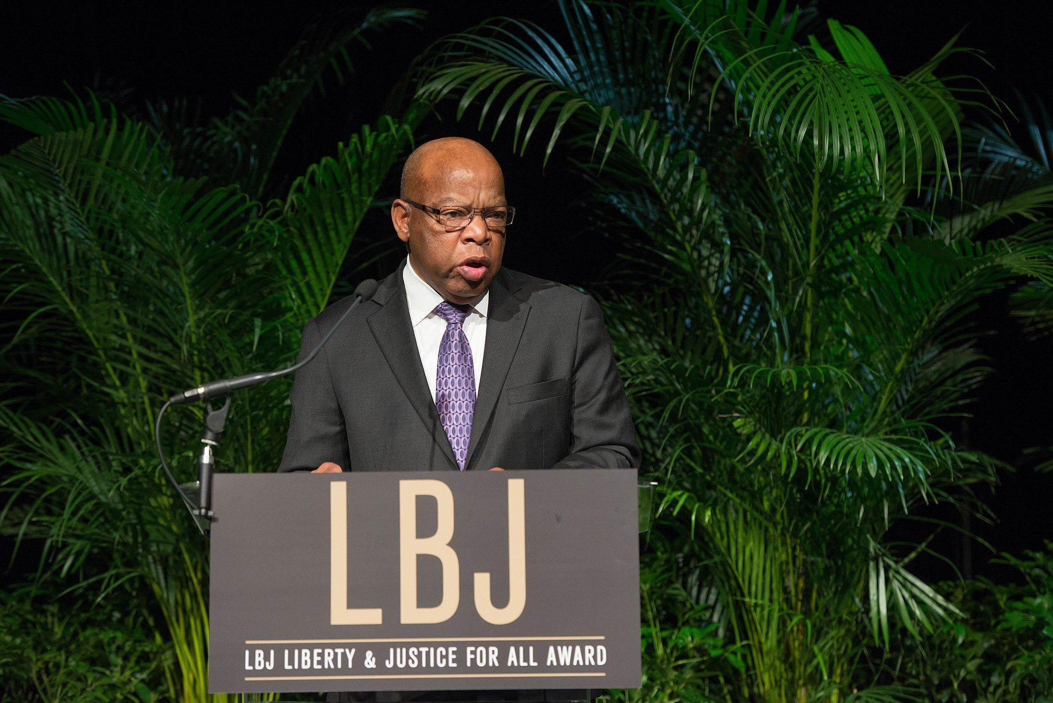 Image: John Lewis at the 2014 Liberty and Justice for All Awards