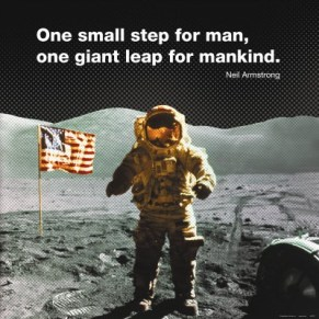 Image: Neil Armstrong on the moon