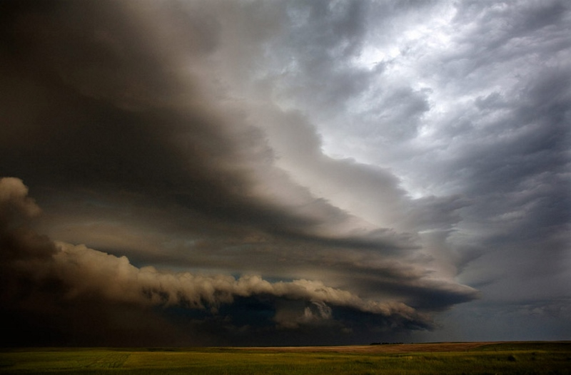 Image: Layered storm front