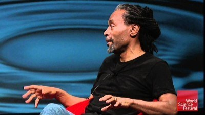 Image: Bobby McFerrin giving a talk