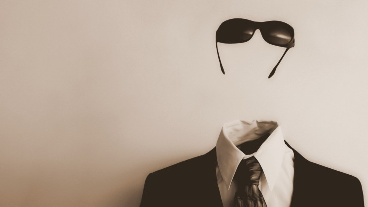 Image: Invisible man