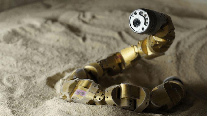 Image: Snake robot