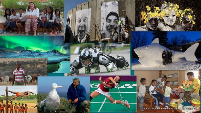 Image: Collage of Positive things in the world