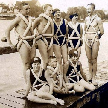 Image: Very early Personal Flotation Devices