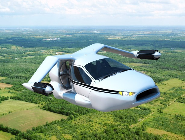Image: Flying car versus Self-driving Cars