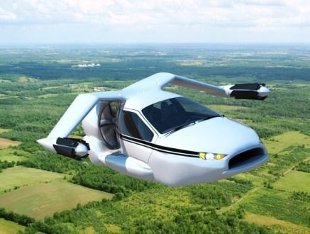 Image: Flying car versus Self-driving Cars