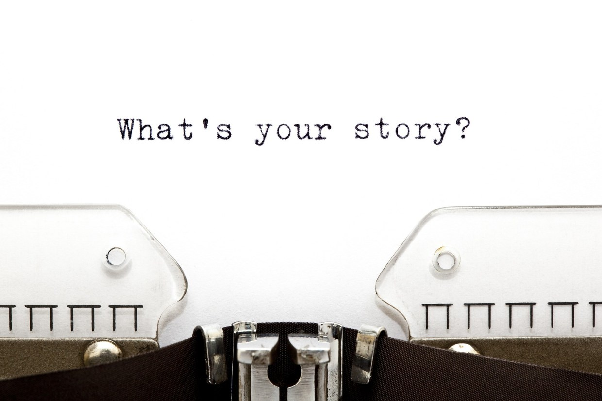 asking people for their story