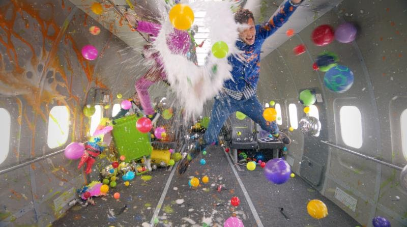 OK Go Upside Down Inside Out behind the scenes