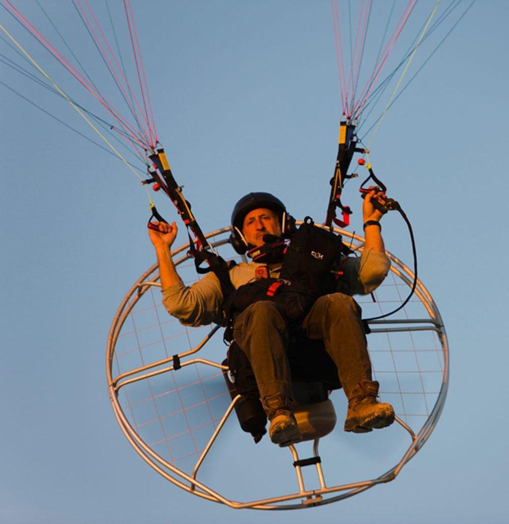 Theo Allofs Paragliding Aerial Photography | EWC