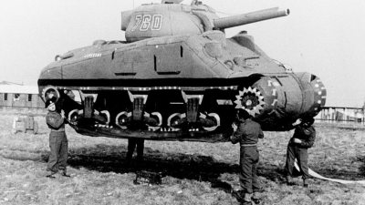 Image: Ghost Army Tank