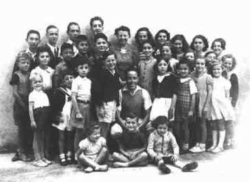 Image: Jewish children in france WWII