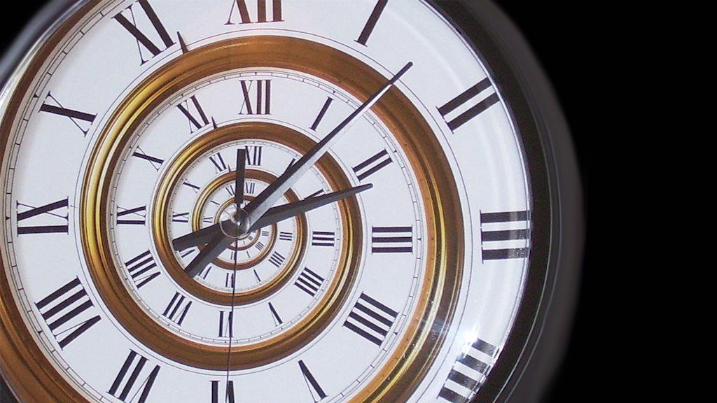Image: A Spiral Clock