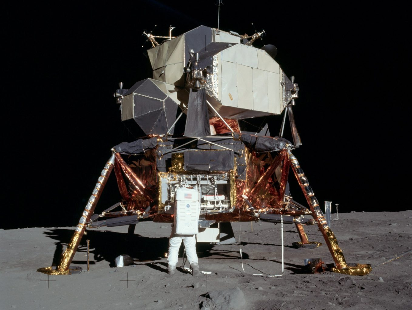 Image: Apollo 1, landed on the moon