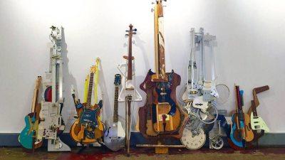 Image: turning trash into musical instruments
