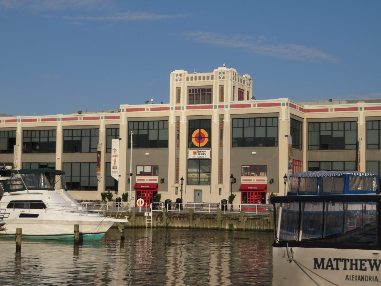 Image: The restored Torpedo Factory Art Center