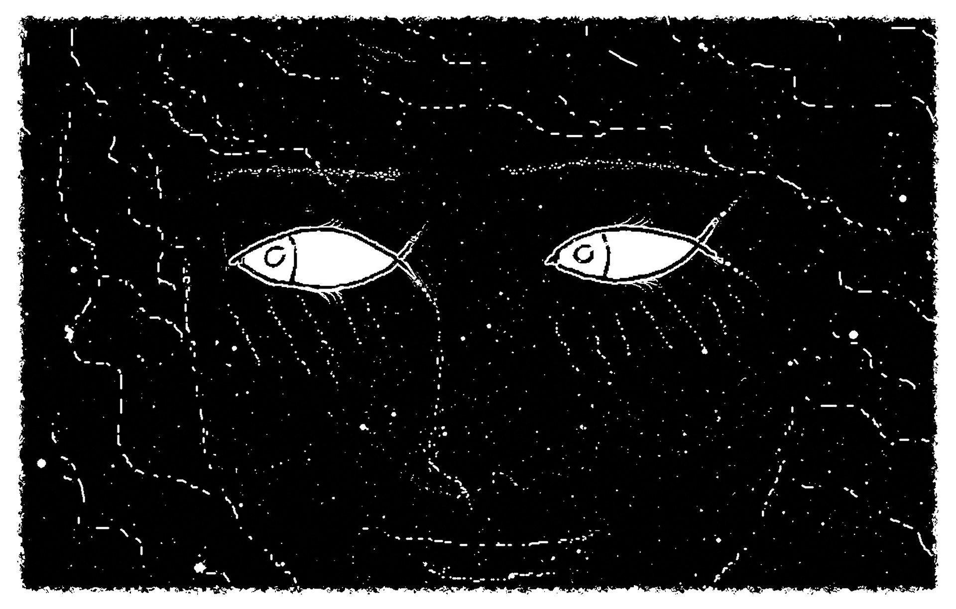 Image: Optical Illusion of a face