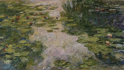 Image: Water Lilies by claude monet's cataracts