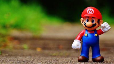 Image: Mario action figure